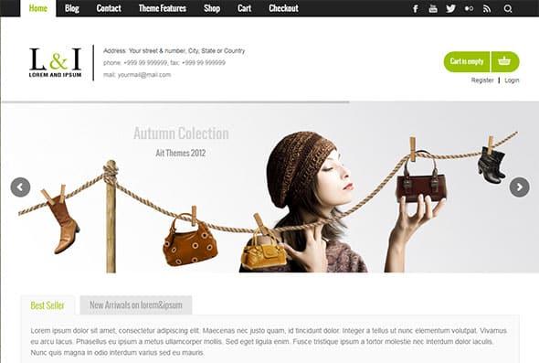 Tema Lorem Ipsum - Template WordPress