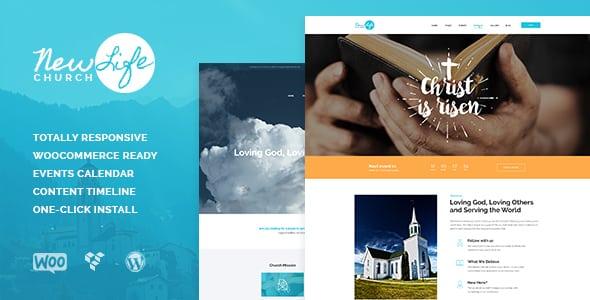 Tema New Life - Template WordPress