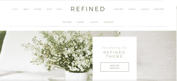 Tema Refined Pro - Template WordPress