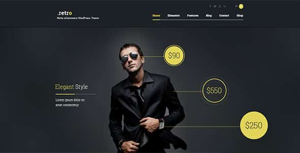 Tema Retro AIT - Template WordPress