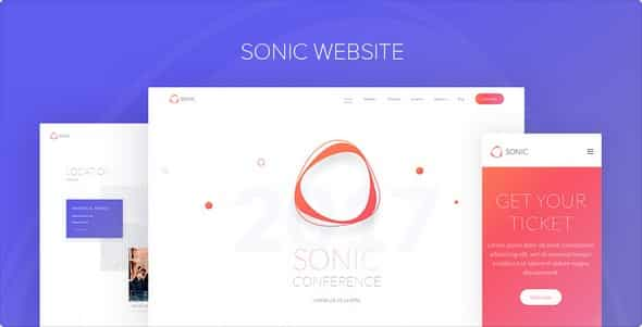 Tema Sonic YooTheme - Template WordPress
