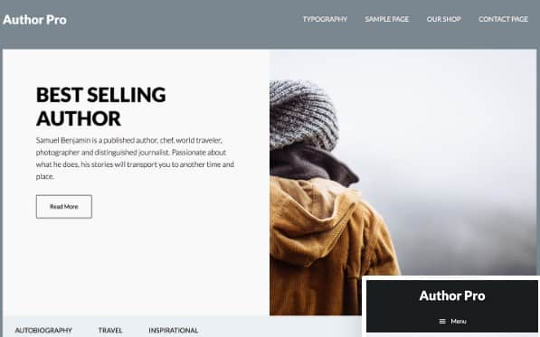 Tema Author Pro - Template WordPress