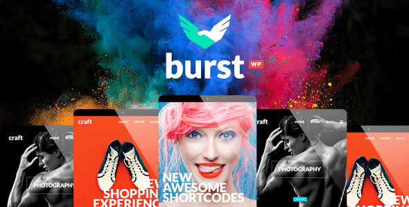Tema Burst - Template WordPress
