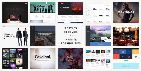 Tema Cardinal - Template WordPress