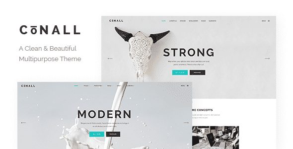 Tema Conall - Template WordPress