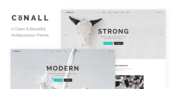 Tema Conall - Template WordPress