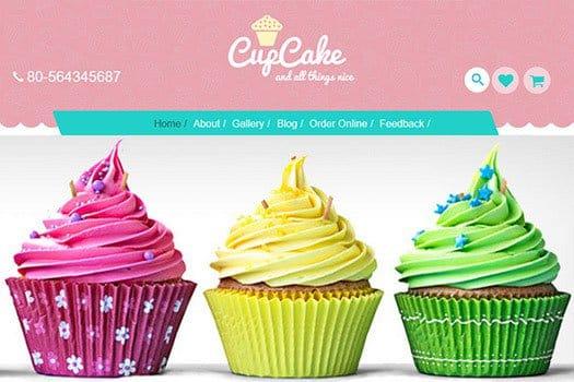 Tema Cupcake Cyberchimps - Template WordPress