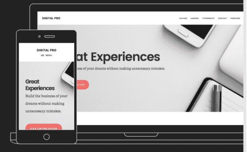 Tema Digital Pro - Template WordPress