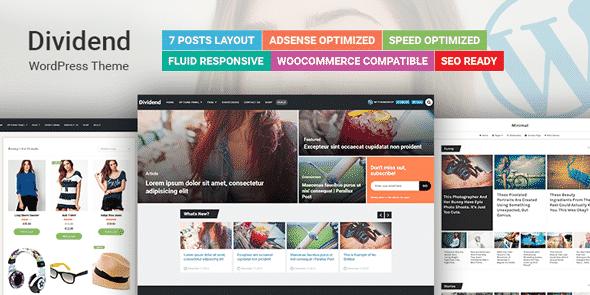 Tema Dividend - Template WordPress