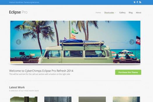 Tema Eclipse Pro - Template WordPress