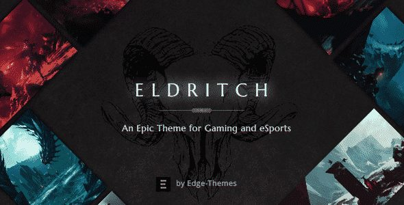 Tema Eldritch - Template WordPress