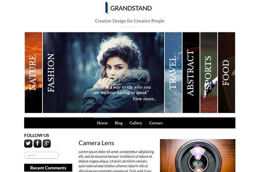 Tema GrandStand - Template WordPress