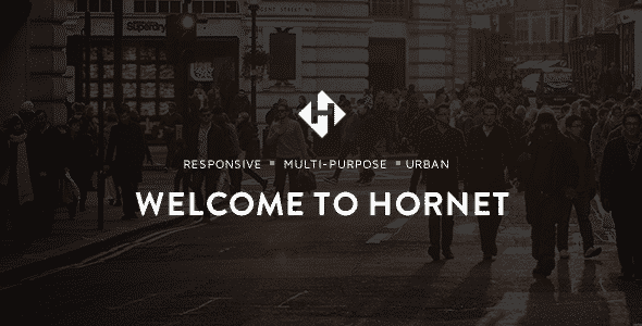 Tema Hornet - Template WordPress