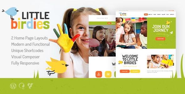 Tema Little Birdies - Template WordPress