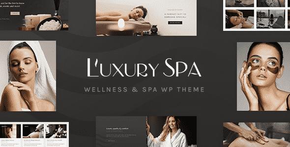 Tema Luxury Spa - Template WordPress