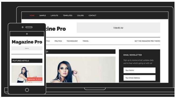 Tema Magazine Pro StudioPress - Template WordPress