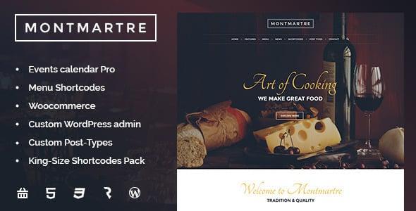 Tema MontMartre - Template WordPress
