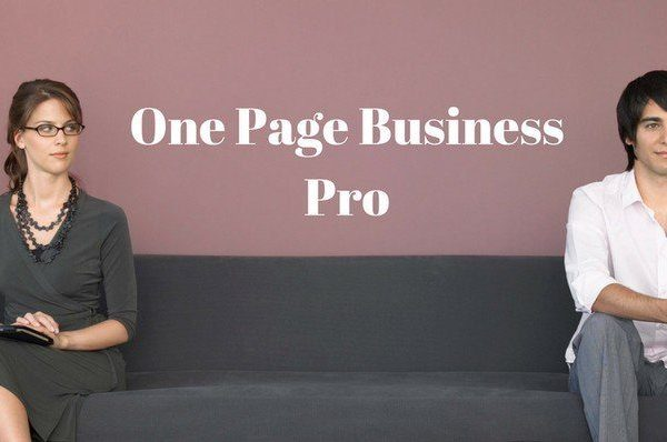Tema One Page Business Pro - Template WordPress