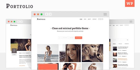 Tema Portfolio MyThemeShop - Template WordPress