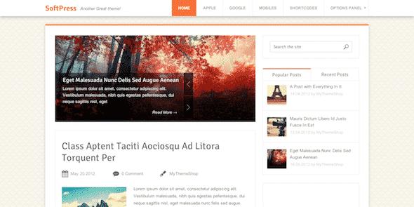 Tema SoftPress - Template WordPress