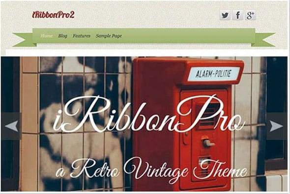 Tema iRibbon Pro 2 - Template WordPress