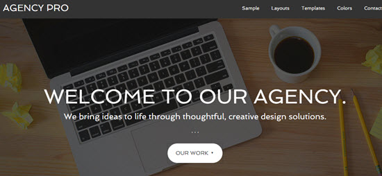 Tema Agency Pro - Template WordPress