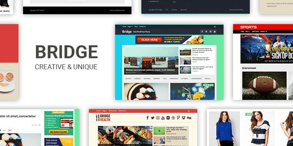 Tema Bridge MyThemeShop - Template WordPress