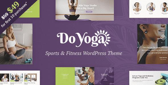 Tema Do Yoga - Template wordPress