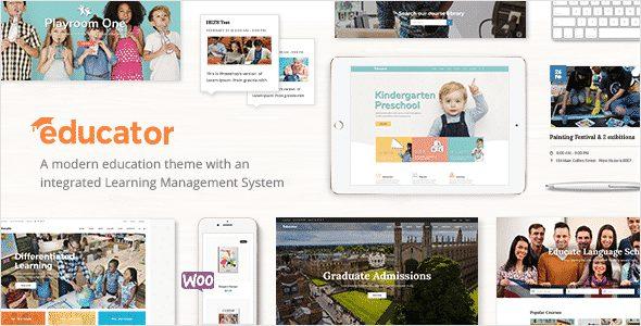 Tema Educator - Template WordPress