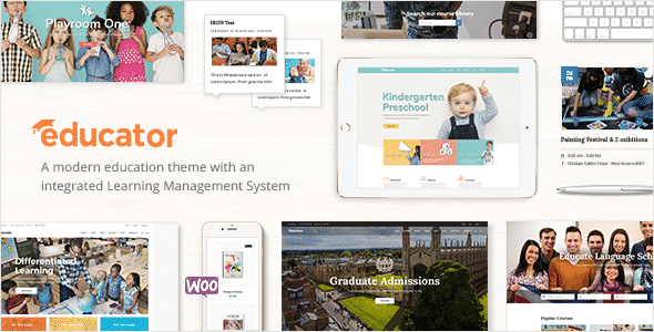 Tema Educator - Template WordPress