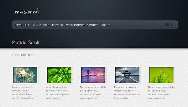 Tema Envisioned - Template WordPress