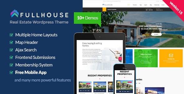 Tema FullHouse - Template WordPress