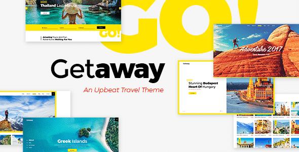 Tema Getaway - Template WordPress