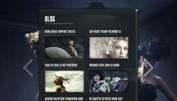 Tema Gleam - Template WordPress