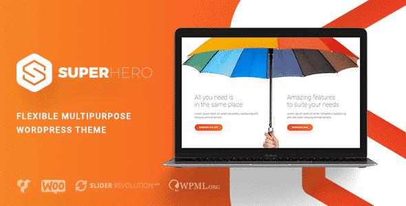 Tema SuperHero - Template WordPress