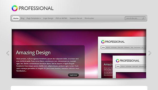 Tema TheProfessional - Template WordPress