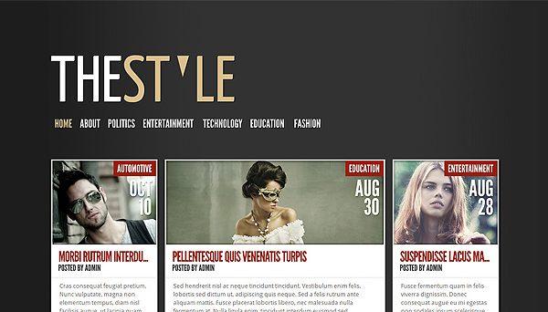 Tema TheStyle - Template WordPress