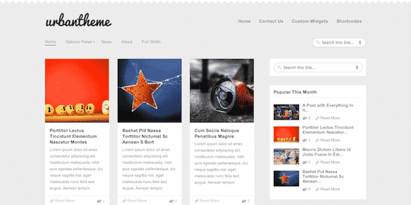Tema Urban MyThemeShop - Template WordPress