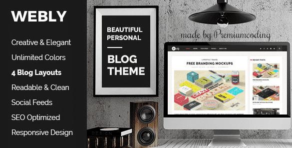 Tema Webly - Template WordPress