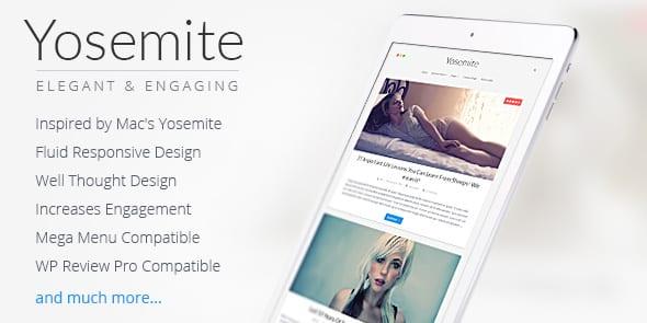 Tema Yosemite - Template WordPress