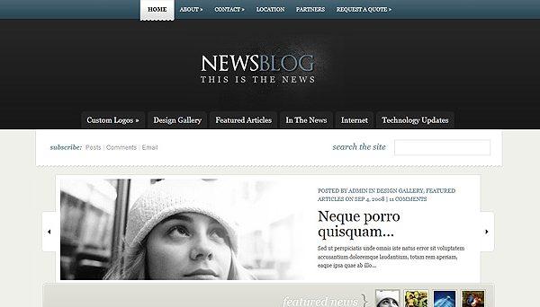 Tema eNews ElegantThemes - Template WordPress