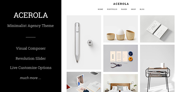 Tema Acerola - TEmplate WordPress