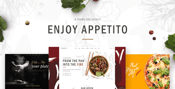 Tema Appetito - Template WordPress