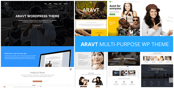 Tema Aravt - Template WordPress