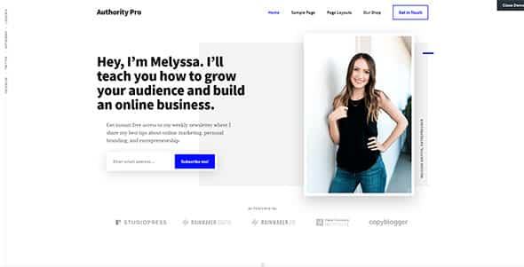 Tema Authority Pro - Template WordPress