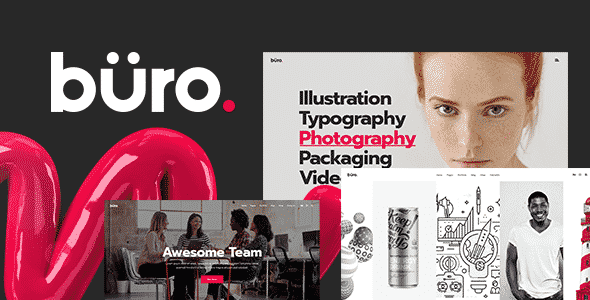 Tema Buro - Template WordPress