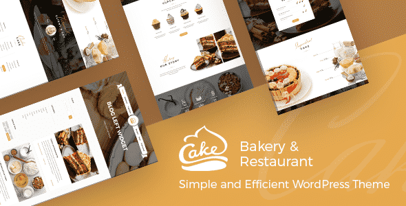 Tema Cake Themeton - Template WordPress