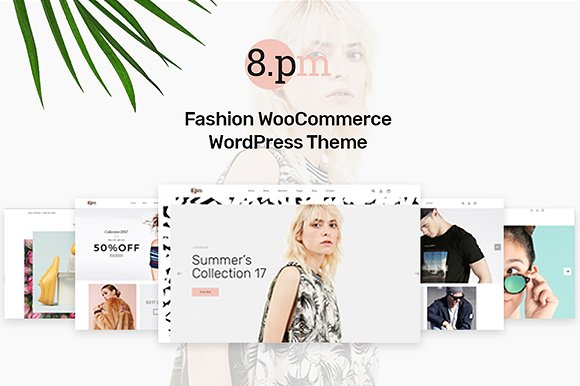 Tema EightPM - Template WordPress