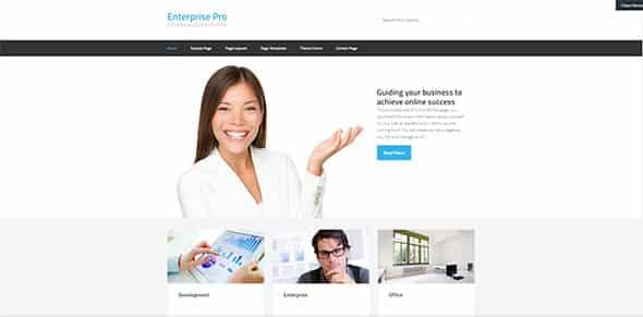 Tema Enterprise Pro - Template WordPress