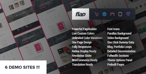 Tema Flap - Template WordPress
